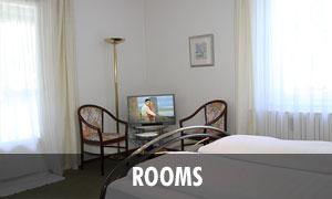Rooms of the Romantic Pension Albrecht Neuschwanstein in Hohenschwangau