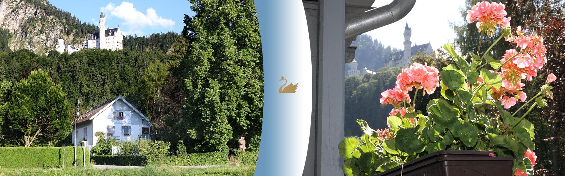 Rooms of the Romantic Pension Albrecht Neuschwanstein