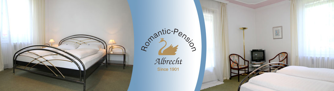 Our rooms in the Romantic Pension Albrecht Neuschwanstein